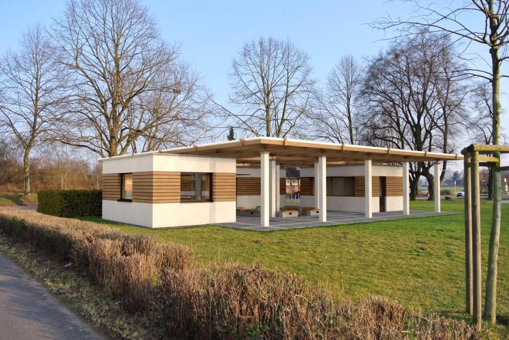 Entwurf Grillhütte Brauweiler